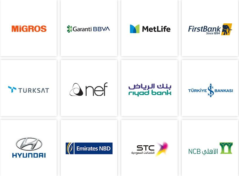 Müşteri Logoları