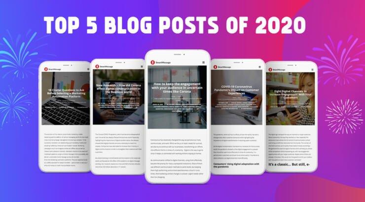 SmartMessage Top 5 Blog Posts of 2020